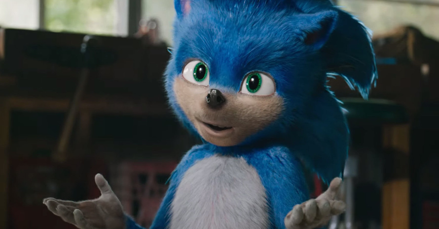 Leaked Sonic Movie Re-Design Images
